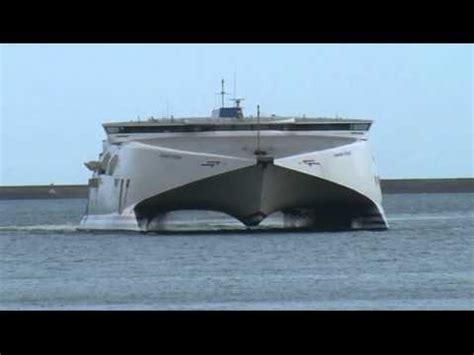 largest catamaran ferry catamaran ferry youtube