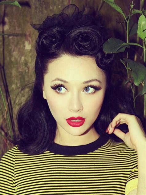 how to do vintage hairstyles pinterest hair and makeup pinup rockabilly hair make up pinterest
