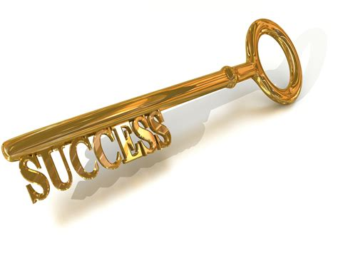 The Key the golden key to success is you inspireasy