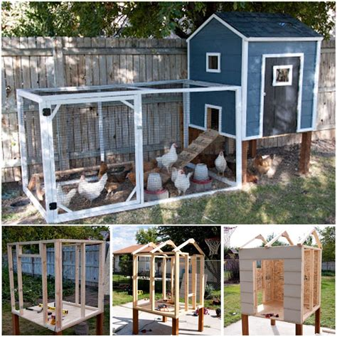 10 backyard diy chicken coop plans and tutorials