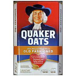 Quaker Cereal Herb groceries breakfast cereal quaker fashioned plain oatmeal 5 lb bag pack