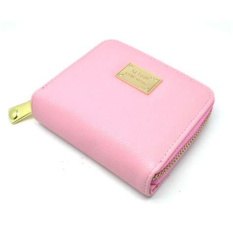 Dompet Wanita Leather Small Bag dompet wanita bahan kulit pink jakartanotebook
