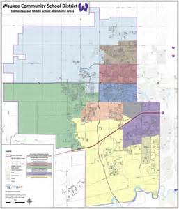 School District Map Waukee Community School District 187 Maps Boundaries