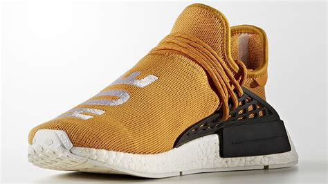 Sepatu Adidas Nmd Sporty Trendy Gold pharrell x adidas hu nmd tangerine the sole supplier