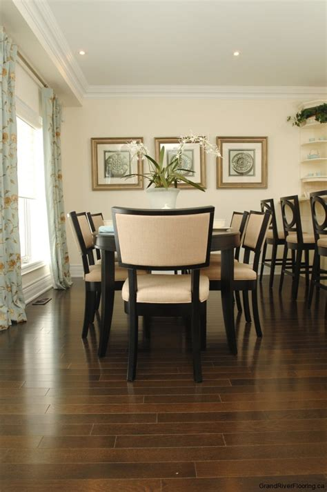 Dining Rooms With Hardwood Floors   Grand River Flooring inc.