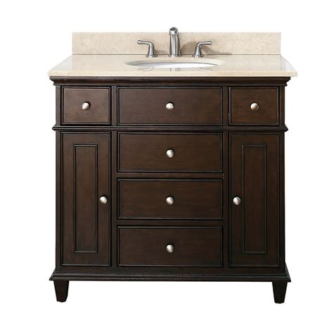 lowes bathroom vanities 36 inch avanity v36 w 36 in bathroom vanity lowe