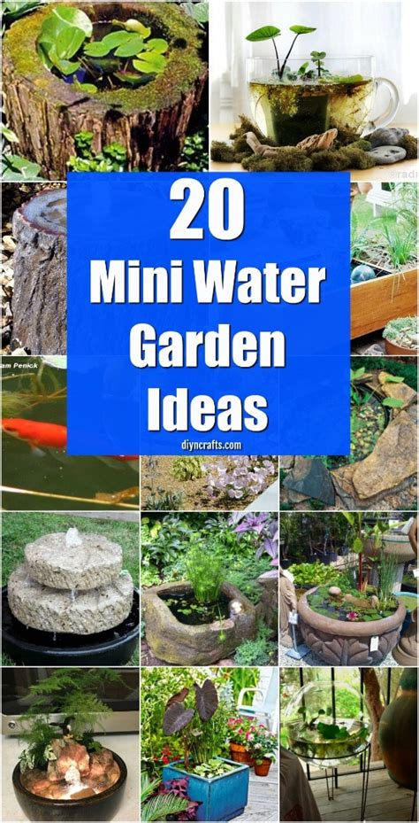 water garden ideas 20 charming and cheap mini water garden ideas for your