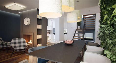 Modern Livingroom amenagement maison contemporaine escalier picslovin