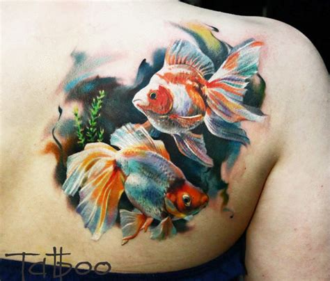 sholder fish tattoo by valentina ryabova no 733