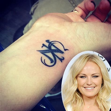 malin akerman tattoos celebritiestattooed com