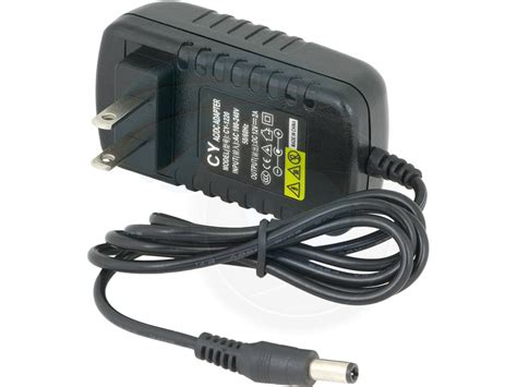 Adaptor 12v 2a Dc Standard 5 5 X 2 5 Mm Cctv Dvr cy 1120 us 12v 2a 5 5mm universal ac dc power supply