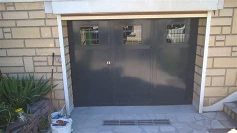 porte de garage 3 vantaux du fer forge portes de garage 3 vantaux