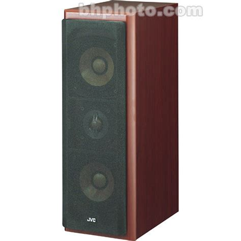 jvc sx wd8 2 way 10 5cm quot wood cone bookshelf speakers sxwd8