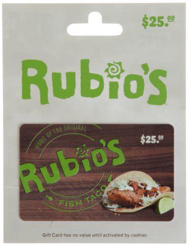 Rubio S Gift Card - rubio s gift card 25