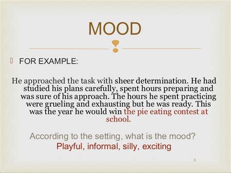 exle of tone mood and tone practice