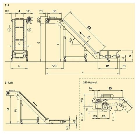 product layout model conveyors bruderer