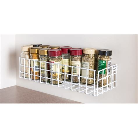 Spices Rack by Restored 310mm White Spice Rack I N 2666451 Bunnings