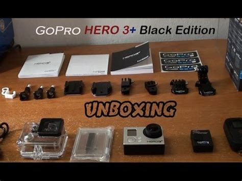 Gopro Hero3 Black Edition Malaysia gopro 3 black edition unboxing inside box