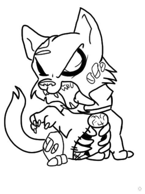 zombie cat coloring page zombie cat drawing br3tt 169 2018 oct 4 2011