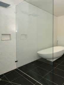 Bath Shower Glass Panels Bathroom Showers Shower Screens And Shower Bases Ideas