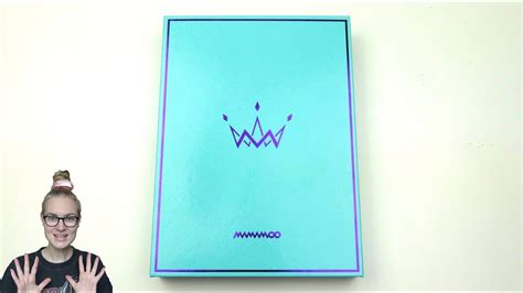 Mamamoo Purple Mint unboxing mamamoo 마마무 5th mini album purple mint edition