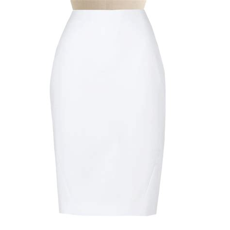 pencil skirt silhouettes