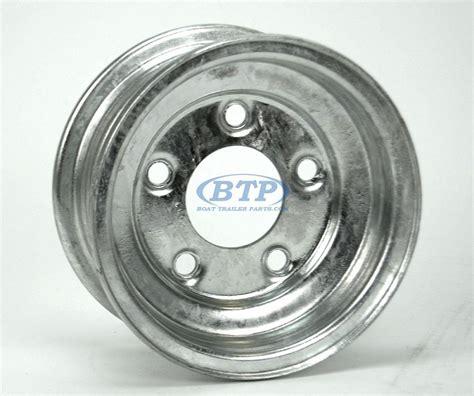 boat trailer wheel lugs boat trailer wheel 8 inch galvanized 5 lug 5 on 4 1 2 bolt