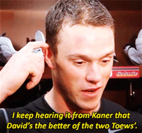 toews and kane fight on bench from valoir he thinks meaning to be strong the hockey