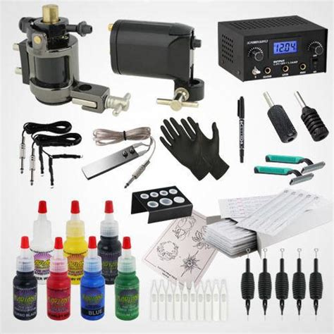 home tattoo kit list of equipment supply