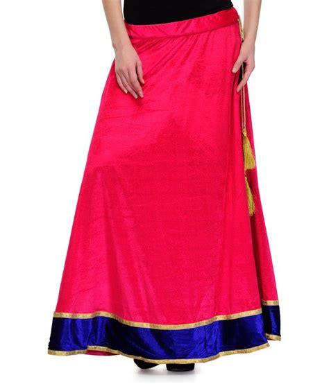 Buy 1 Skirt Get 1 Velvet Wide Skirt buy stylechiks pink velvet skirt at best prices in india snapdeal