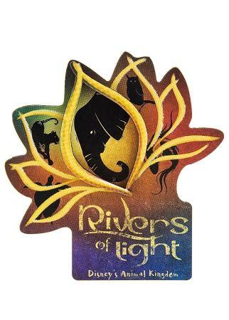 disney magnet animal kingdom rivers  light