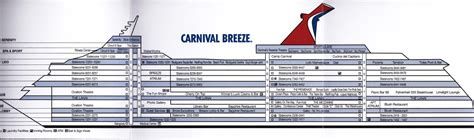 carnival breeze floor plan haynes world miami carnival breeze part 2