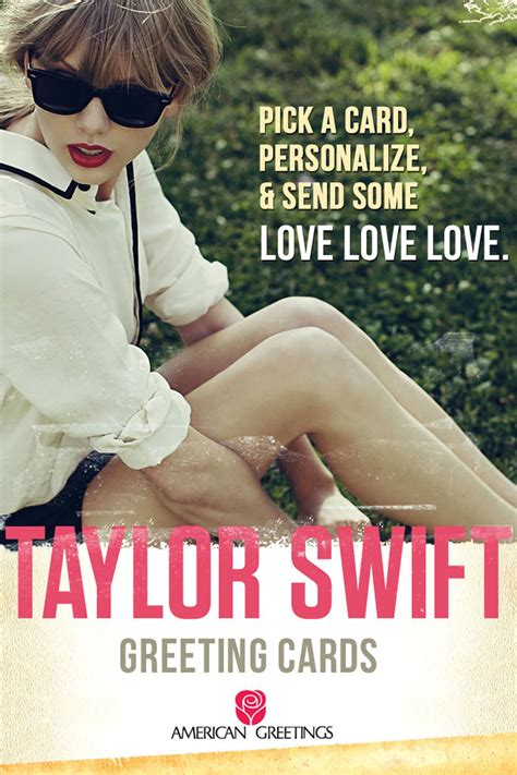 Taylor Swift Free Gift Cards - american greetings launches taylor swift greeting card mobile app applemagazine