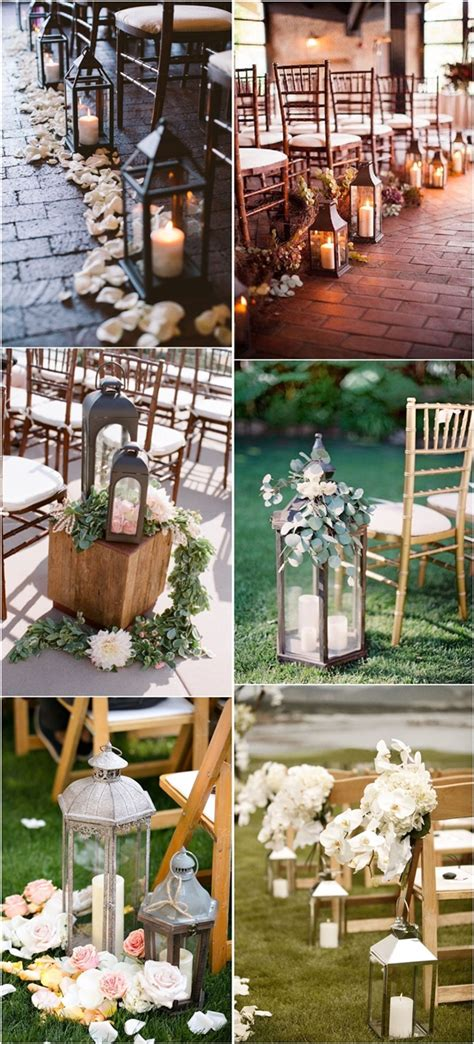 Wedding Aisle Decorations Rustic by 27 Creative Lanterns Wedding Aisle Decor Ideas Creative