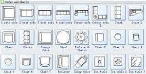 Small Recliner Armchair Home Plan Symbols