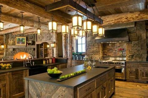 cozy kitchen ideas 40 cozy chalet kitchen designs to get inspired 41
