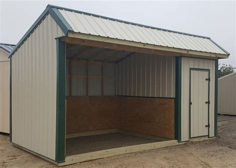 Loafing Shed Prices by Wolfvalley Buildings Storage Shed Custom Made Portable Loafing Shed 10 X18 With 6 Tack