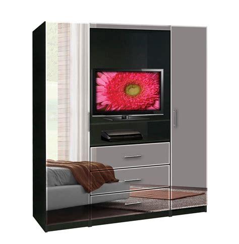 mirrored tv armoire aventa tv armoire contempo space