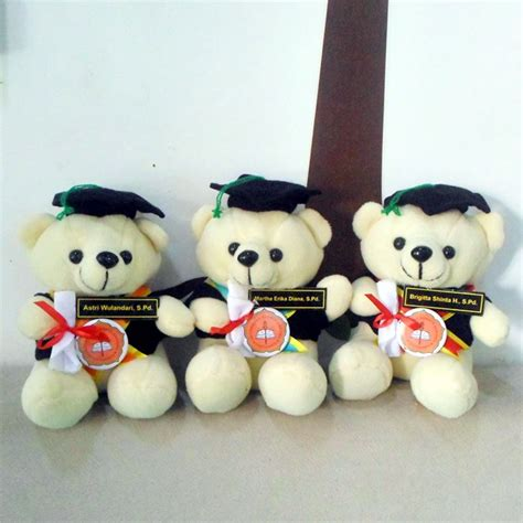 Teddy Kuning Hitam 8199m jual boneka teddy duduk s usd yogyakarta kado wisudaku