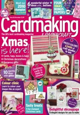 Cardmaking Papercraft Magazine - cardmaking papercraft mag uk issue 86 clare s creations