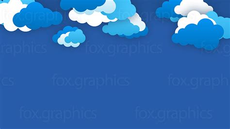 light beautiful vector free background created from many vector clouds wallpaper fox graphics