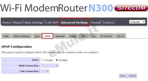aprire porte router sitecom emule it guida emule