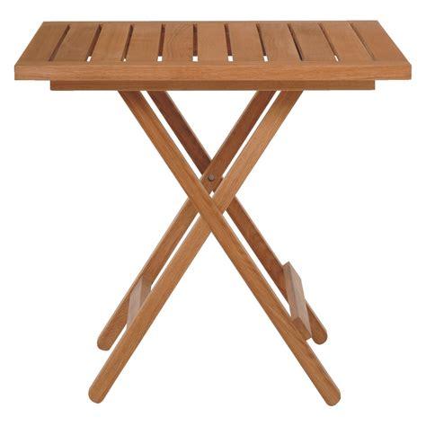 Small Wooden Folding Table Zeno Oak Folding Garden Table Buy Now At Habitat Uk
