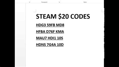Free Steam Wallet Code Giveaway - image gallery steam codes