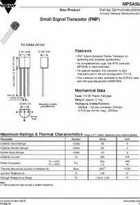 transistor equivalent mpsa56 transistor equivalent mpsa56 28 images mps2222a datasheet small signal transistors npn