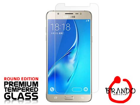 Anti Gores Tempered Glass Samsung J7 2016 J710 Best Quality brando workshop premium tempered glass protector rounded edition samsung galaxy j7 2016 j710