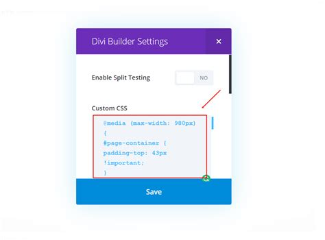 css code for mobile website how to match your desktop mobile menu bar with divi