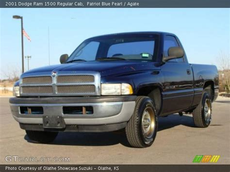 2001 dodge ram 1500 interior patriot blue pearl 2001 dodge ram 1500 regular cab