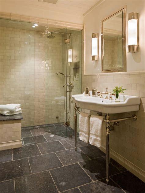 bluestone bathroom tiles tile chair rail houzz