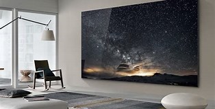 Image result for Samsung The Wall TV. Size: 314 x 160. Source: www.click2houston.com